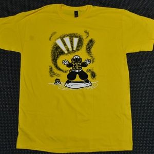 Other - Yellow Graphic Tee